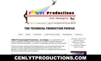 CENLYT Productions-ms designs : Affordable Website Design