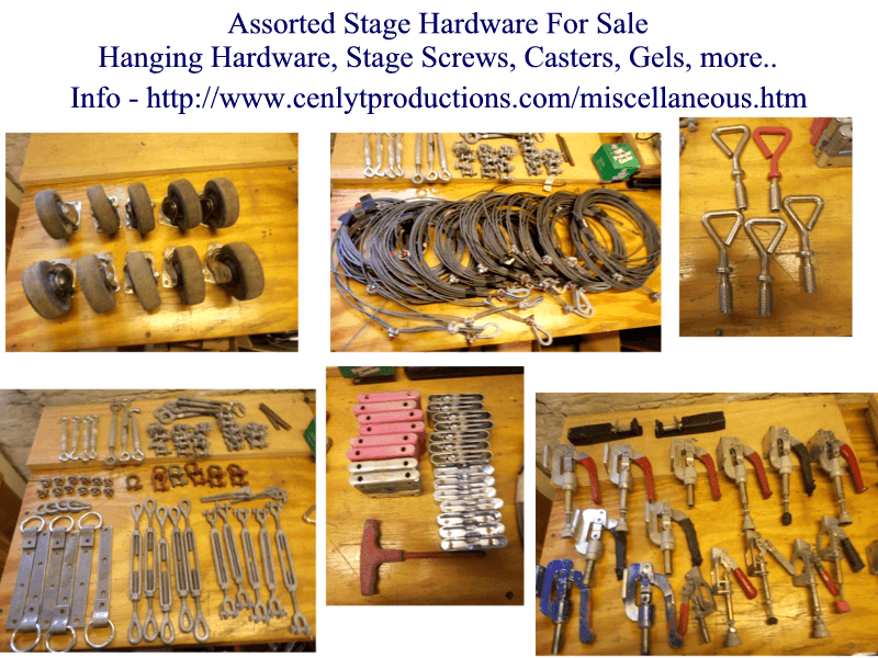 Stage Hardware For Sale